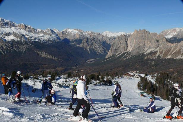 Cortina d'Ampezzo - Faloria, Novembre 2012 - ©Guglielmo Ghezze
