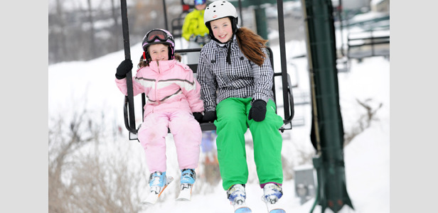 The chairlift ride at Grand Geneva. - ©Grand Geneva