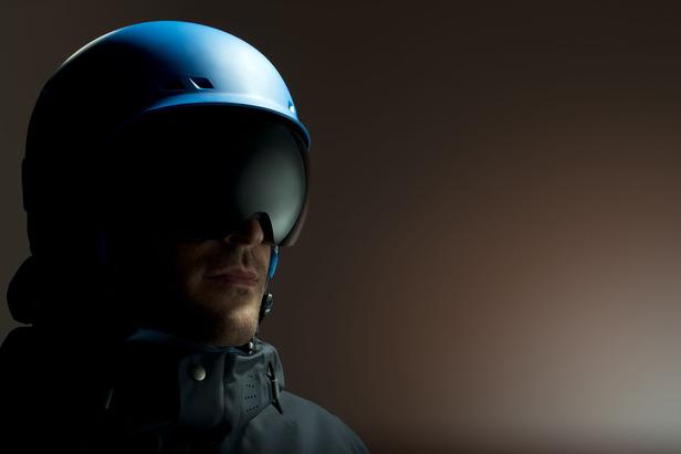 Eric Pollard models the M2 goggle from anon. Optics.