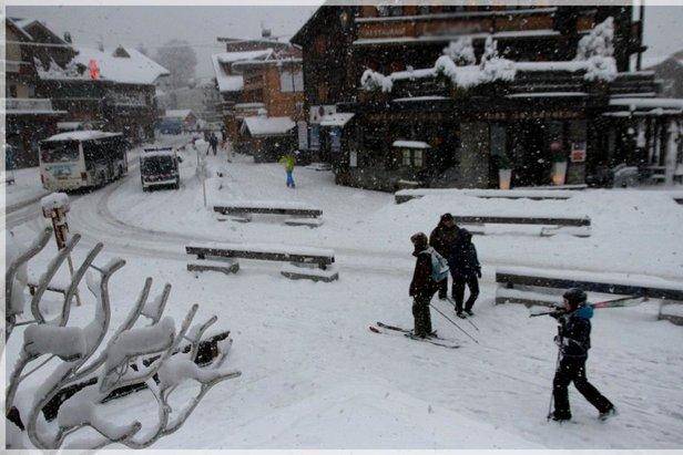 Powder day in Morzine, France - ©Morzine Tourism
