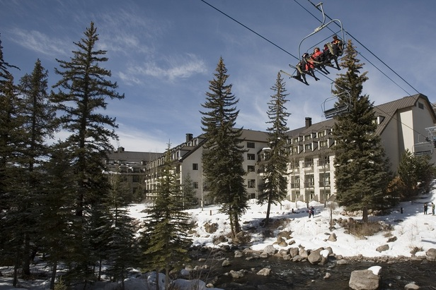 Chair 20 departs from the Cascade's very own doors. - ©Vail Cascade Resort