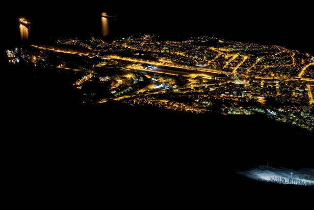 Narvik bei Nacht - ©Jan-Arne Pettersen