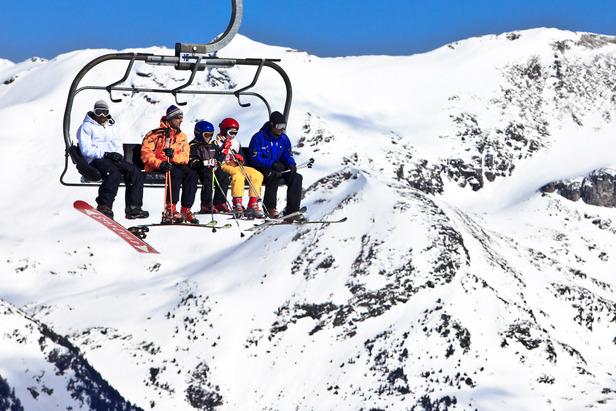 Ski famille grandvalira - ©Marc Gasch/Grandvalira Tourism