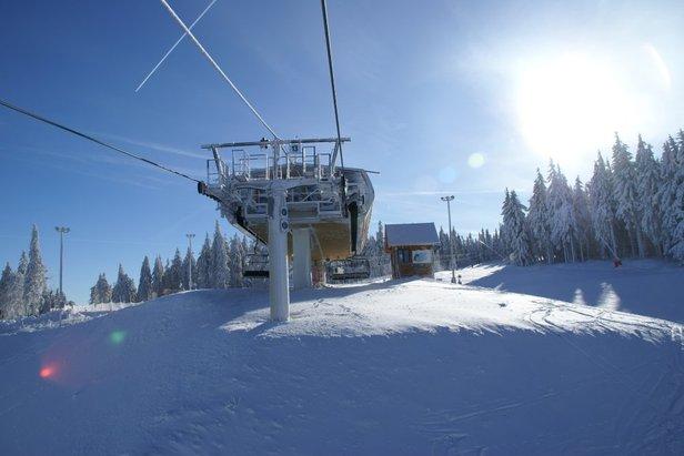 Conditions franchement hivernales sur les Vosges...