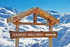 La saison de ski 2014/2015 débutera début octobre pour s'achever début mai. 7 mois de ski !