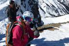 Meatball chute - OnTheSnow Ski Test Director,