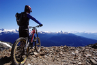 Whistler mountain bike, BC