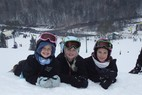 Wild Mountain MN kids - Kids taking a break