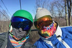 Mountain Creek Resort - Can't believe how nice the slopes are considering its 0 degrees. Not icy and no crowds! - Mountain Creek Resort -