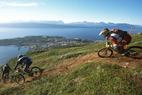 Slik er det å sykle downhill i Narvik