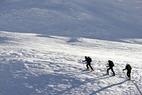 Skitouren-Schnuppern in Bivio, Graubünden