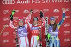 Ski Weltcup in Spindlermühle 2011: Die Nerven fahren mit, Schild krönt Comeback - ©Alain GROSCLAUDE/AGENCE ZOOM