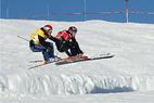 Bayrische Meisterschaft Ski Cross mit Weltcup- und Europacupfahrern - ©Schneestation & Wolfgang Schmidt