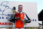 Zweites Gold für Maria Riesch bei Junioren-WM - ©Martin Krapfenbauer