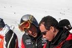 Max Rauffer im Interview mit Ski2b.com nach dem Sieg in Gröden - ©Christian Flühr