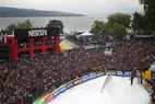 Zweiter Platz für Jon Olsson beim freestyle.ch in Zürich - ©Head