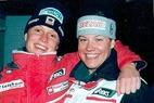 Sturz könnte Saisonende für ÖSV-Fahrerin Karin Truppe bedeuten - ©Gerwig Löffelholz