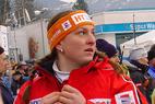 Anja Paerson im Slalom eine Macht - Bergmann auf Platz 15 - ©XNX GmbH