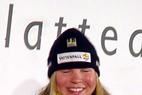 Anja Paerson führt im RS  nach 1. Durchgang - ©XNX GmbH