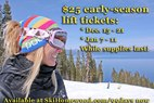 Buy Before Oct. 10 and Receive $25 Lift Tickets to Homewood
