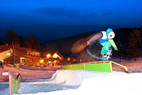 Great Divide's terrain parks. Photo courtesy of Great Divide Ski Area. - Great Divide's terrain parks.