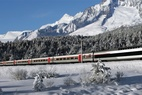 Travel swiftly into the Valais by TGV this winter