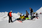 Point neige dans les Alpes du Sud (25/04/2013) - ©OT de Serre Chevalier