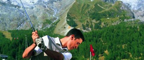 Golfplatz Saas Fee