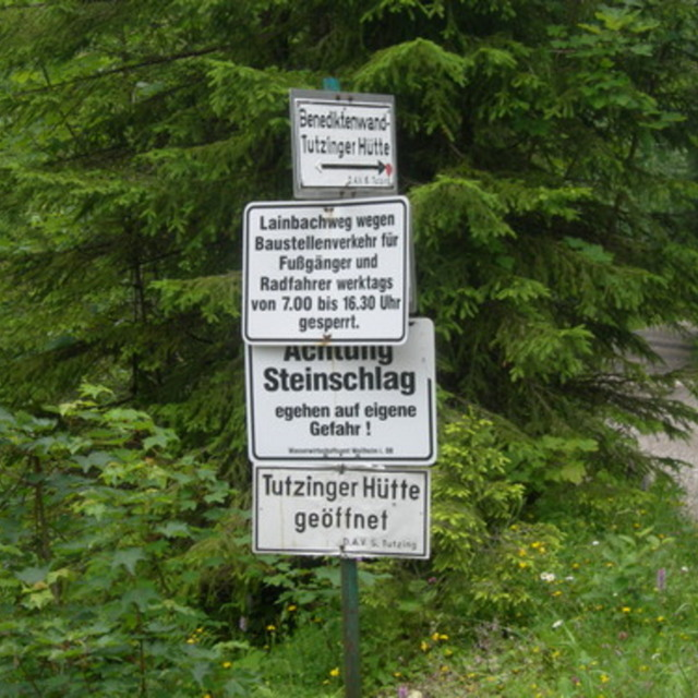 Eibelsfleckhütte-Lainbachtal