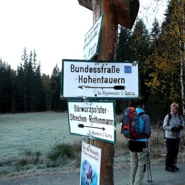 Bruderkogel - Steinermandl