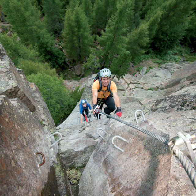 Klettersteig Moosalm - Sölden