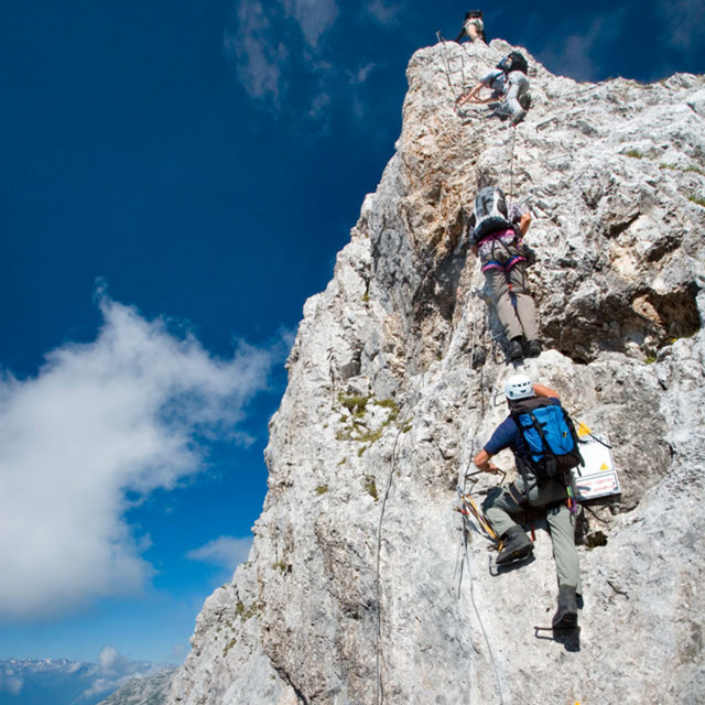 Klettersteig Kühtai