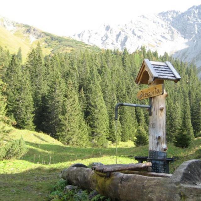 Bichlbach - übers Sommerbergjöchle nach Obergarten
