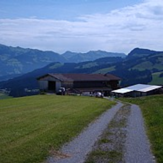 Route 203: Obergaisberg groß