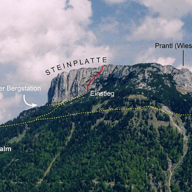Schuasta Gangl - Steinplatte