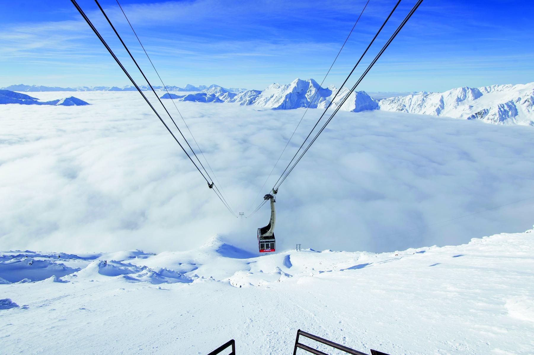 Ľadovec Schnalstal, © Schnalstaler Gletscherbahnen-Alex Filz