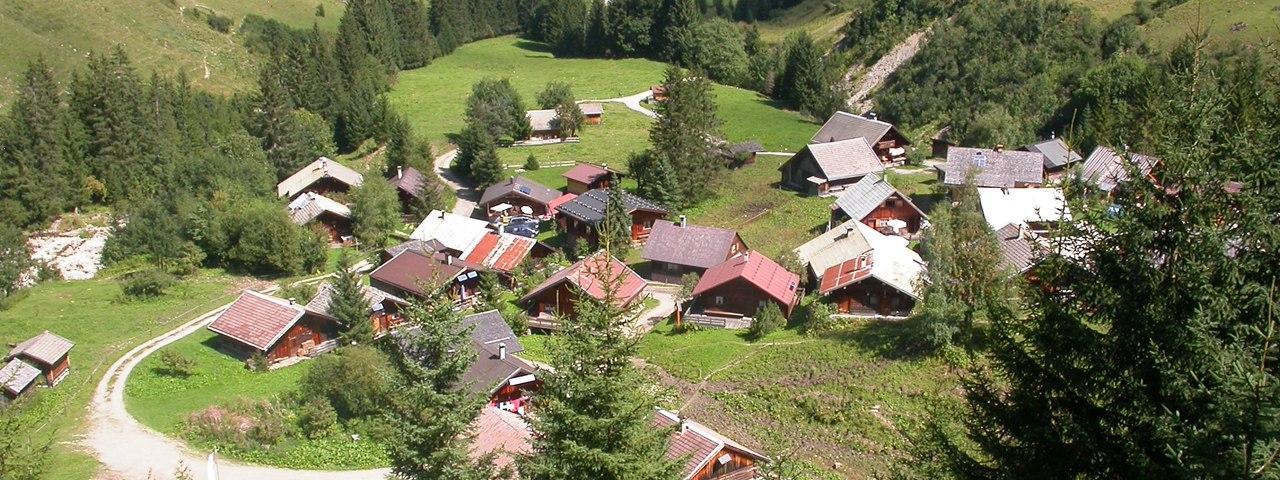 Pohľad na dedinku Fallerschein