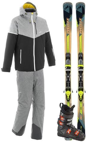 Equipement de ski all mountain Wed'ze