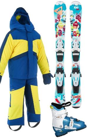 Equipement de ski enfant Wed'ze