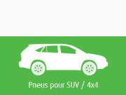 pneus hiver 4x4 et SUV