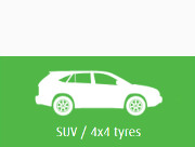 suv and 4x4 winter tyres
