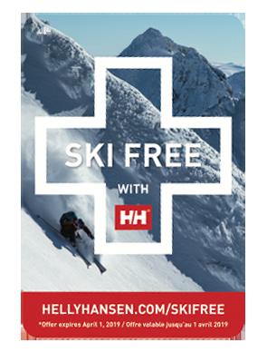 L´etichetta Ski Free / Helly Hansen
