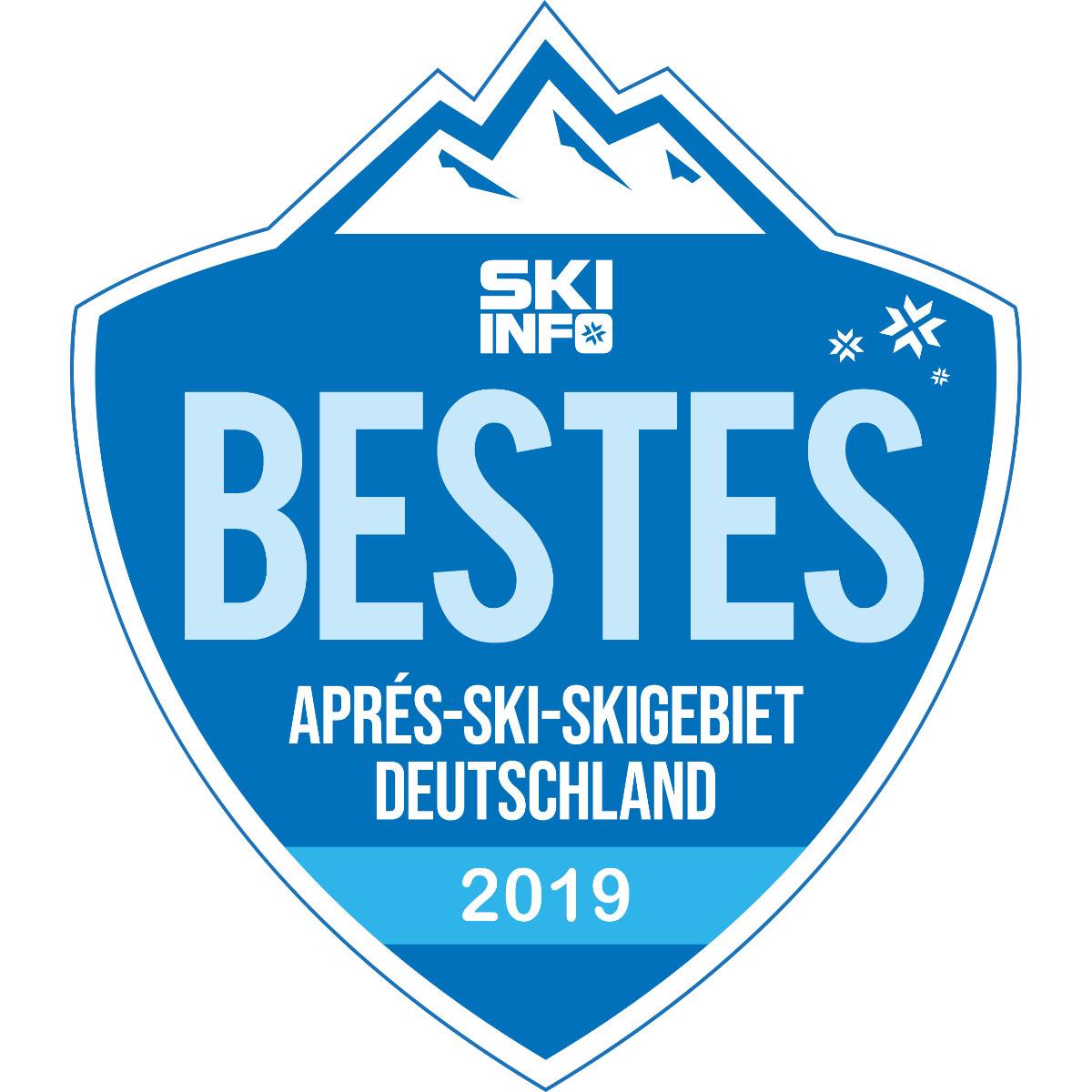 Bestes Aprés Ski Skigebiet Deutschland 2018/2019