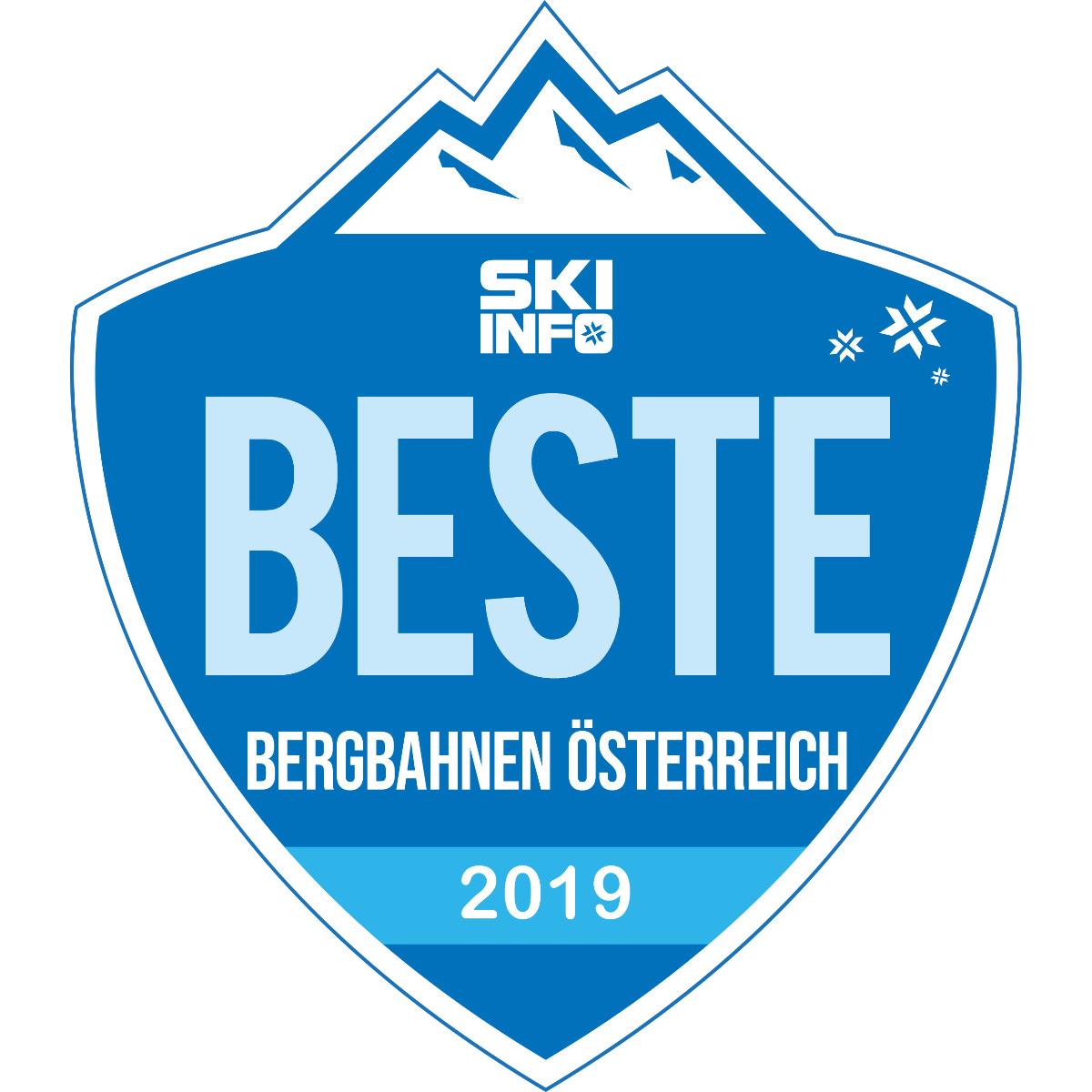 Beste Bergbahnen in Österreich 2018/2019