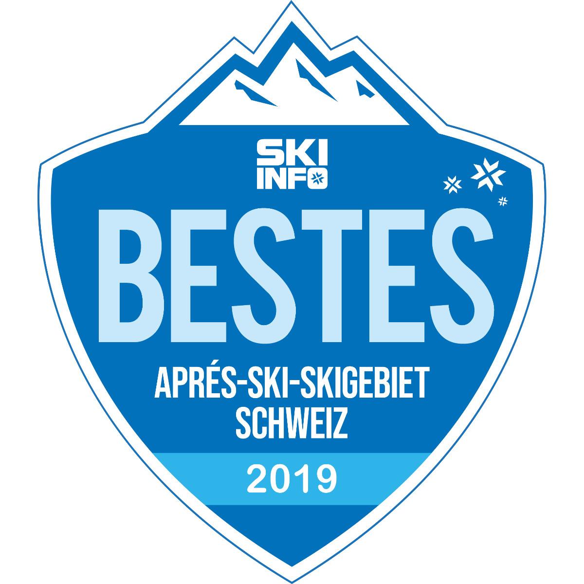 Bestes Aprés-Ski-Skigebiet Schweiz 2018/2019
