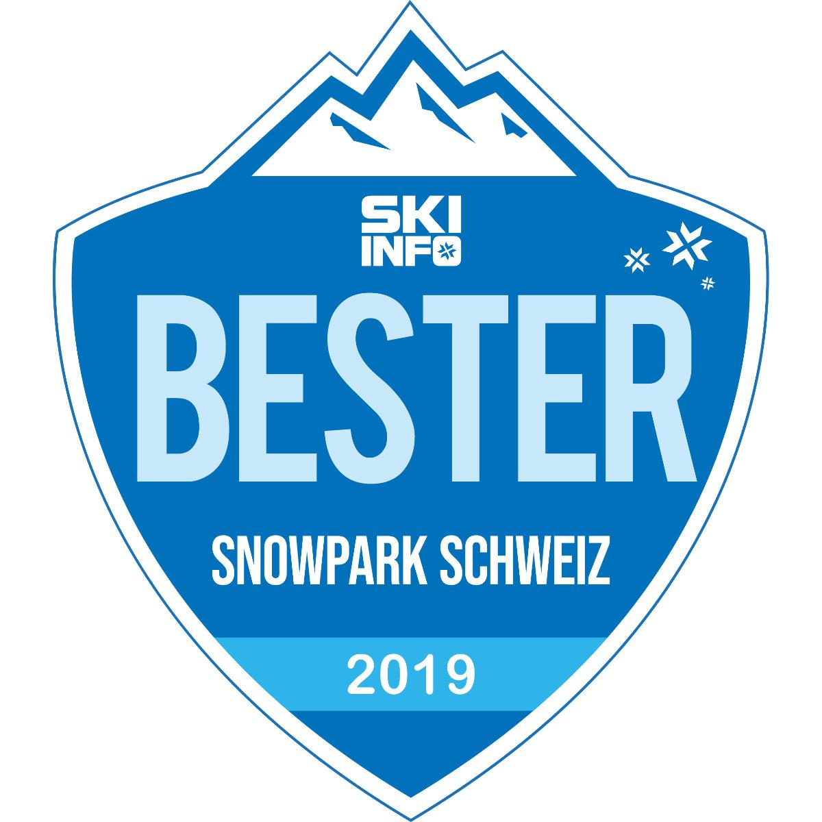Bester Snowpark Schweiz 2018/2019