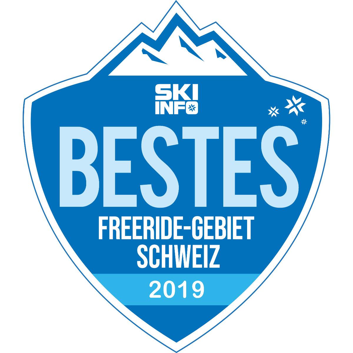 Bestes Freeride-Skigebiet Schweiz 2018/2019
