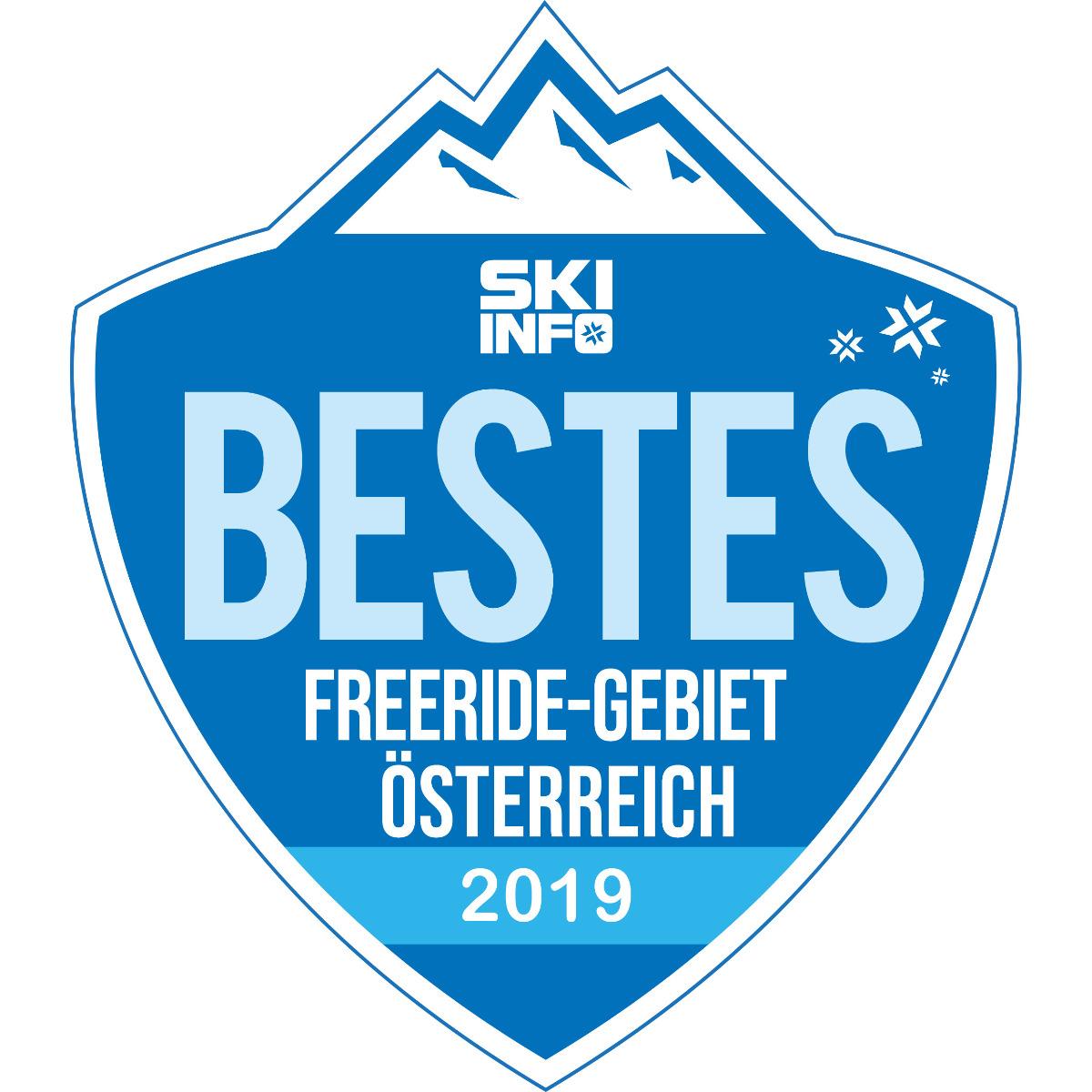 Bestes Freeride-Skigebiet in Österreich 2018/2019