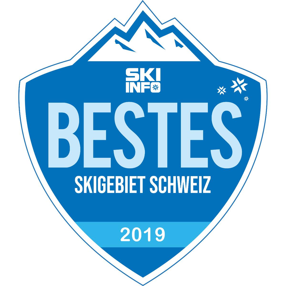 Bestes Skigebiet in der Schweiz 2018/2019