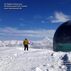 Skifahren in Tochal, Elburs, Iran - ©Hamid Reza / Ali Mohamadi / www.damawand.de